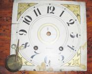 Clock Face and Pendulum Only