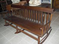 Arrow Back Rocking Bench 1800-1850